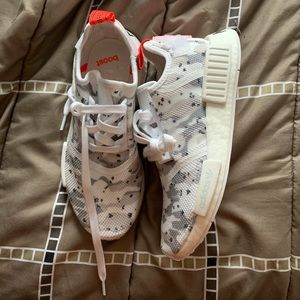adidas Shoes - NMD R1 White Camo